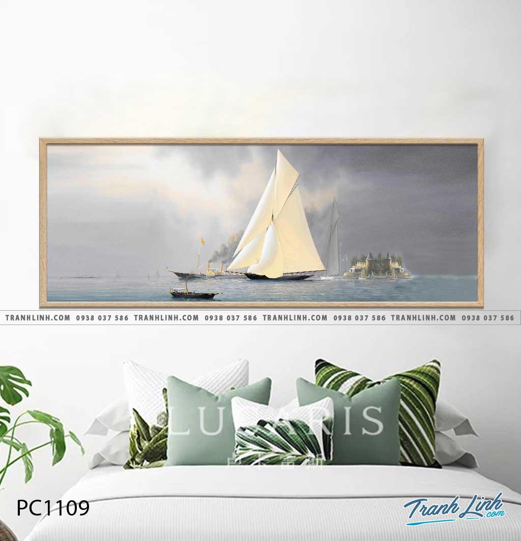 Bo tranh Canvas treo tuong trang tri phong khach phong canh PC1109
