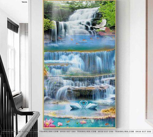 Bo tranh Canvas treo tuong trang tri phong khach phong canh PC1126
