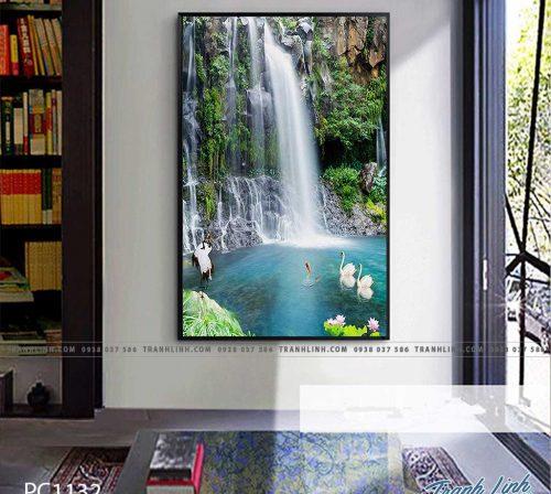 Bo tranh Canvas treo tuong trang tri phong khach phong canh PC1132