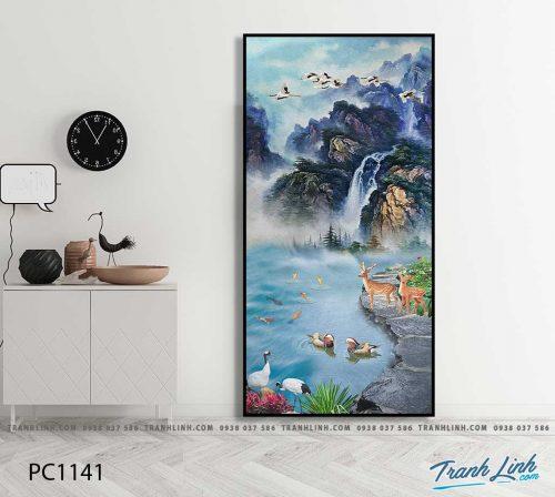 Bo tranh Canvas treo tuong trang tri phong khach phong canh PC1141