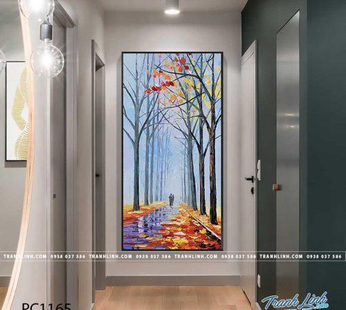 Bo tranh Canvas treo tuong trang tri phong khach phong canh PC1165