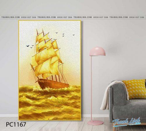 Bo tranh Canvas treo tuong trang tri phong khach phong canh PC1167