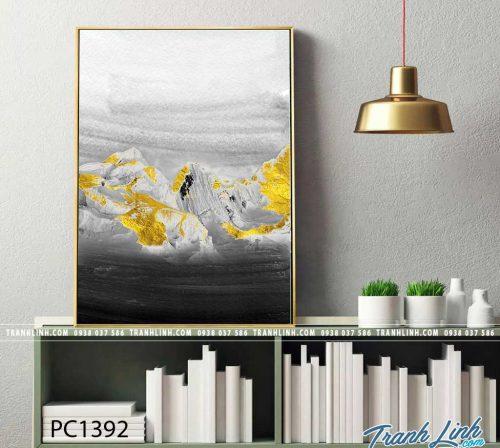 Bo tranh Canvas treo tuong trang tri phong khach phong canh PC1392