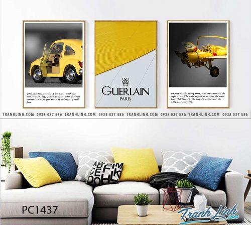 Bo tranh Canvas treo tuong trang tri phong khach phong canh PC1437
