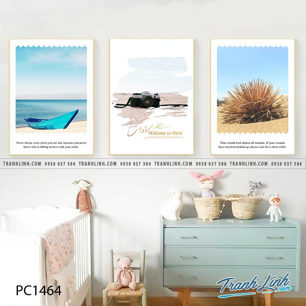 Bo tranh Canvas treo tuong trang tri phong khach phong canh PC1464