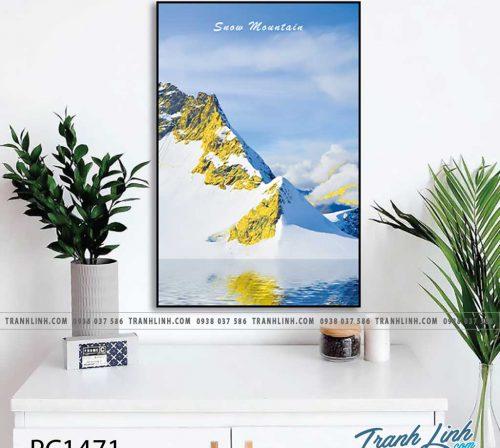 Bo tranh Canvas treo tuong trang tri phong khach phong canh PC1471