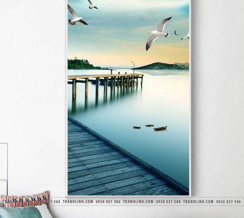 Bo tranh Canvas treo tuong trang tri phong khach phong canh PC1530