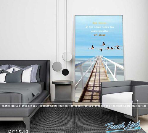 Bo tranh Canvas treo tuong trang tri phong khach phong canh PC1548