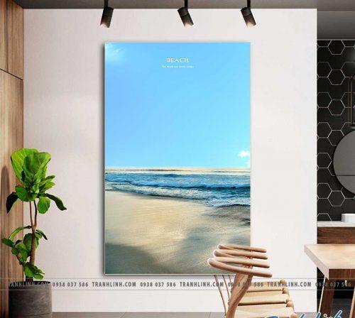 Bo tranh Canvas treo tuong trang tri phong khach phong canh PC1596