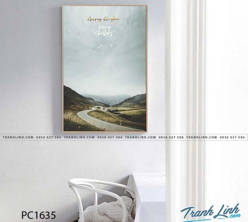 Bo tranh Canvas treo tuong trang tri phong khach phong canh PC1635