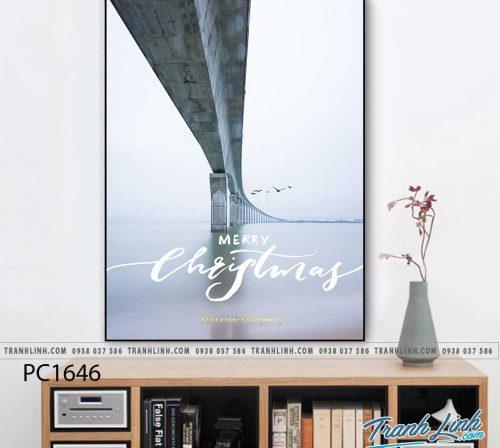 Bo tranh Canvas treo tuong trang tri phong khach phong canh PC1646