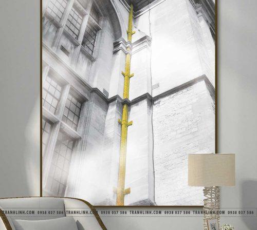 Bo tranh Canvas treo tuong trang tri phong khach phong canh PC1658