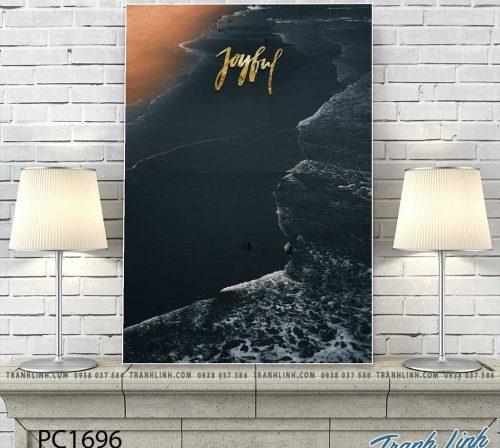 Bo tranh Canvas treo tuong trang tri phong khach phong canh PC1696
