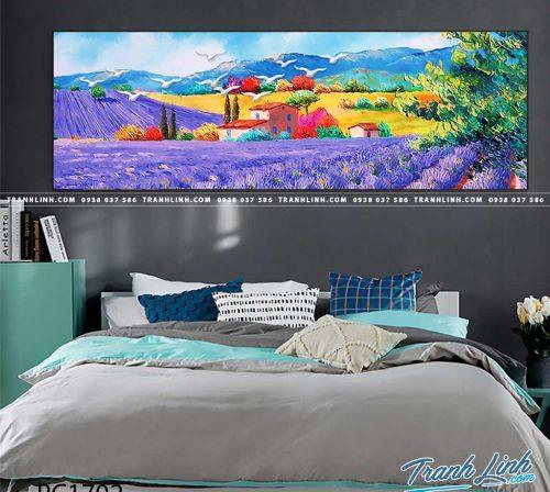 Bo tranh Canvas treo tuong trang tri phong khach phong canh PC1702
