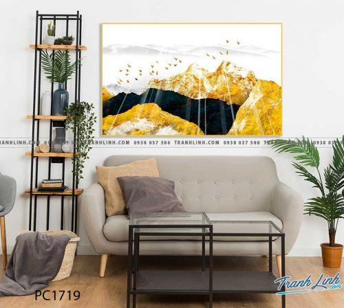 Bo tranh Canvas treo tuong trang tri phong khach phong canh PC1719