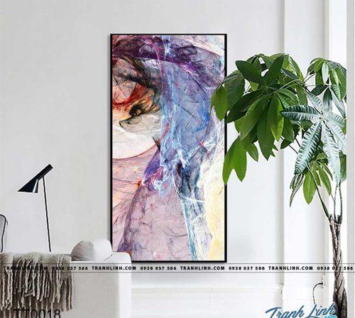 Bo tranh Canvas treo tuong trang tri phong khach truu tuong TT0018