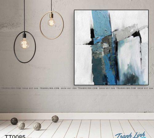 Bo tranh Canvas treo tuong trang tri phong khach truu tuong TT0085