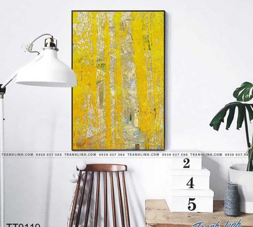 Bo tranh Canvas treo tuong trang tri phong khach truu tuong TT0119
