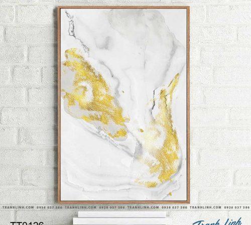 Bo tranh Canvas treo tuong trang tri phong khach truu tuong TT0126