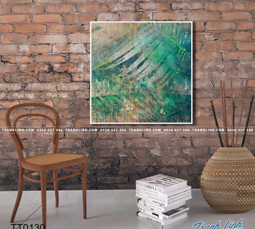 Bo tranh Canvas treo tuong trang tri phong khach truu tuong TT0130