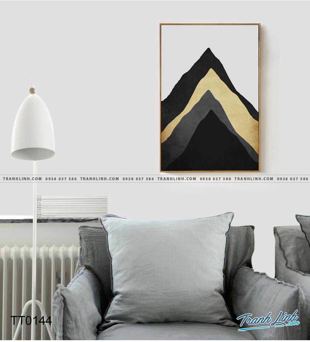 Bo tranh Canvas treo tuong trang tri phong khach truu tuong TT0144
