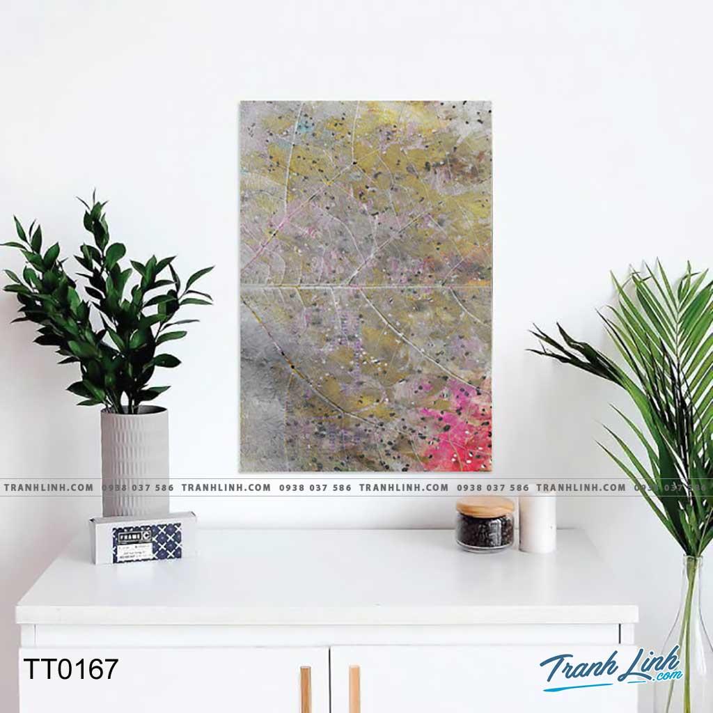 Bo tranh Canvas treo tuong trang tri phong khach truu tuong TT0167