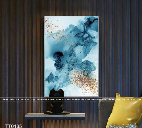 Bo tranh Canvas treo tuong trang tri phong khach truu tuong TT0185
