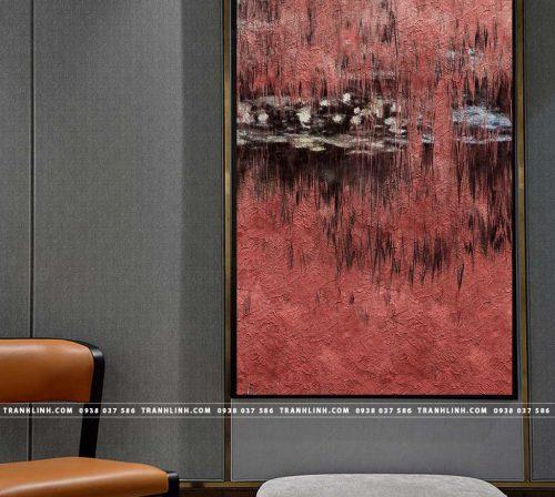 Bo tranh Canvas treo tuong trang tri phong khach truu tuong TT0200