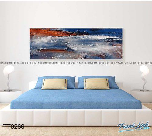 Bo tranh Canvas treo tuong trang tri phong khach truu tuong TT0226