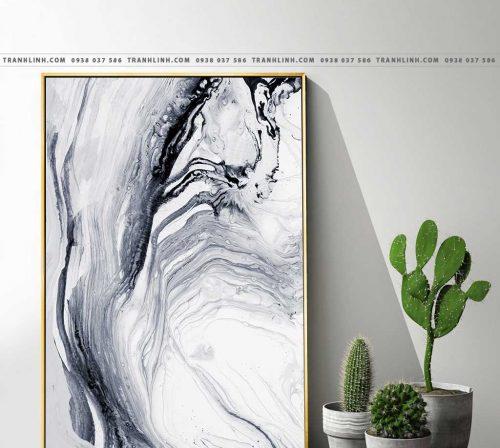 Bo tranh Canvas treo tuong trang tri phong khach truu tuong TT0235