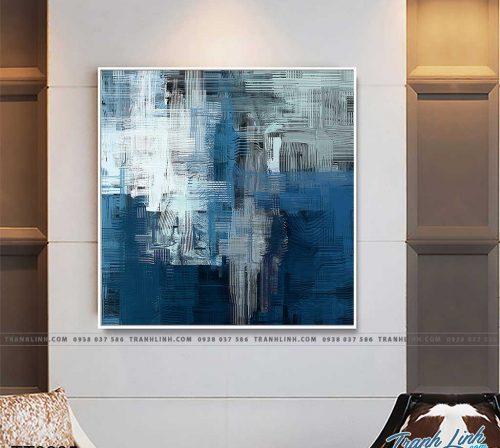 Bo tranh Canvas treo tuong trang tri phong khach truu tuong TT0285