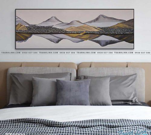 Bo tranh Canvas treo tuong trang tri phong khach truu tuong TT0290