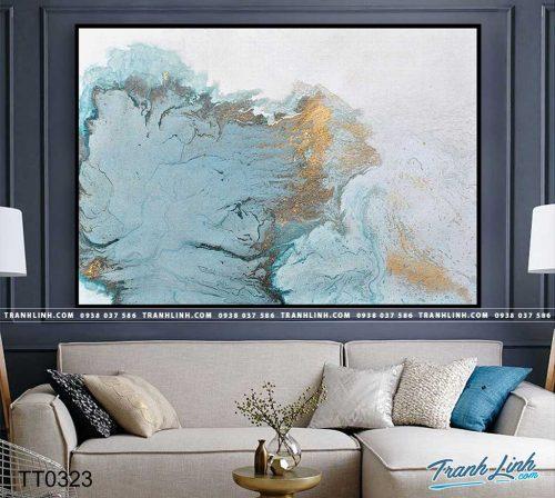 Bo tranh Canvas treo tuong trang tri phong khach truu tuong TT0323