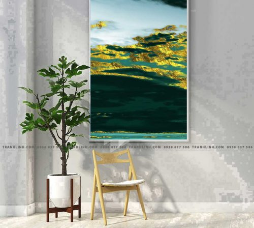 Bo tranh Canvas treo tuong trang tri phong khach truu tuong TT0521