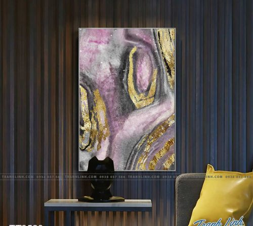 Bo tranh Canvas treo tuong trang tri phong khach truu tuong TT0529