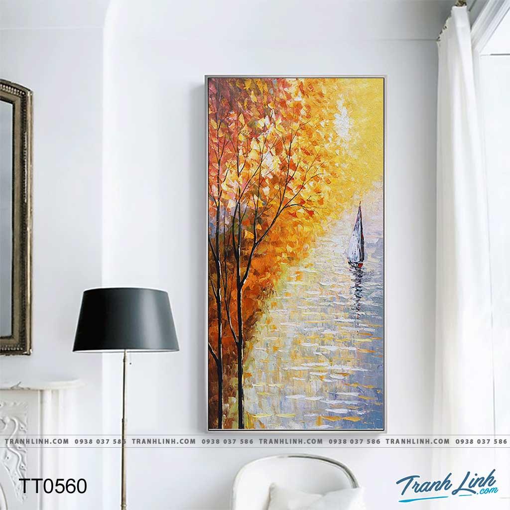 Bo tranh Canvas treo tuong trang tri phong khach truu tuong TT0560