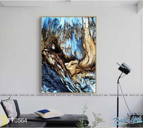 Bo tranh Canvas treo tuong trang tri phong khach truu tuong TT0564