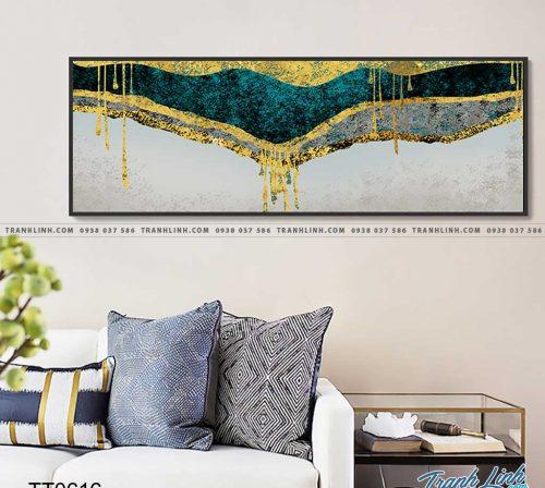 Bo tranh Canvas treo tuong trang tri phong khach truu tuong TT0616