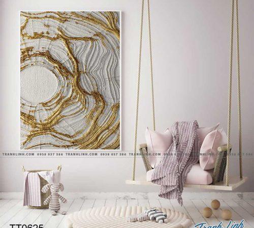 Bo tranh Canvas treo tuong trang tri phong khach truu tuong TT0625