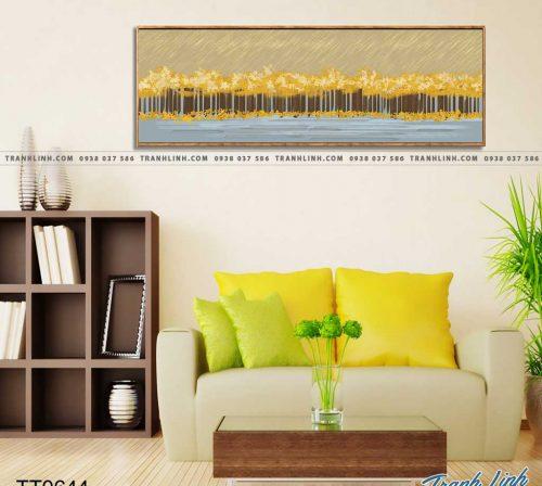 Bo tranh Canvas treo tuong trang tri phong khach truu tuong TT0644