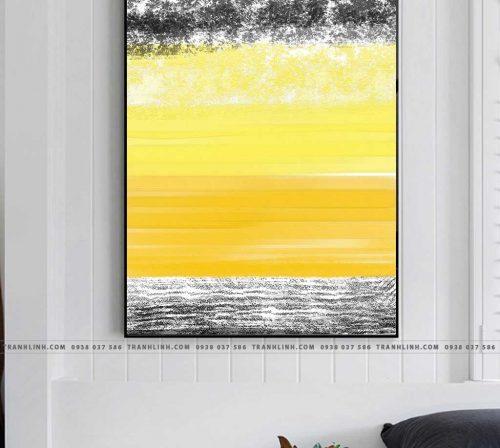 Bo tranh Canvas treo tuong trang tri phong khach truu tuong TT0673