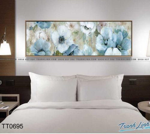Bo tranh Canvas treo tuong trang tri phong khach truu tuong TT0695