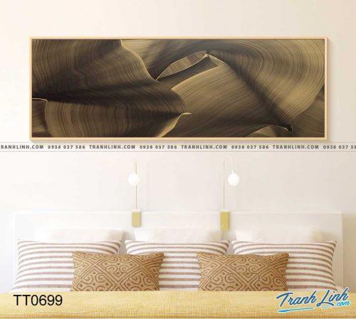 Bo tranh Canvas treo tuong trang tri phong khach truu tuong TT0699