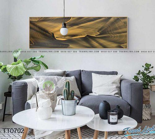 Bo tranh Canvas treo tuong trang tri phong khach truu tuong TT0702