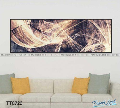 Bo tranh Canvas treo tuong trang tri phong khach truu tuong TT0726