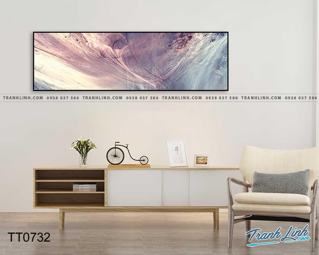 Bo tranh Canvas treo tuong trang tri phong khach truu tuong TT0732