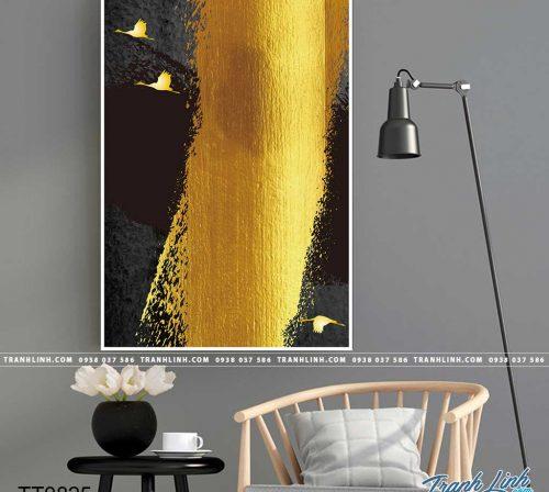 Bo tranh Canvas treo tuong trang tri phong khach truu tuong TT0825