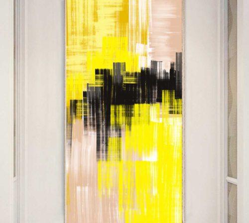 Bo tranh Canvas treo tuong trang tri phong khach truu tuong TT0930