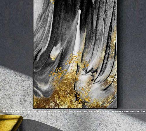 Bo tranh Canvas treo tuong trang tri phong khach truu tuong TT0943