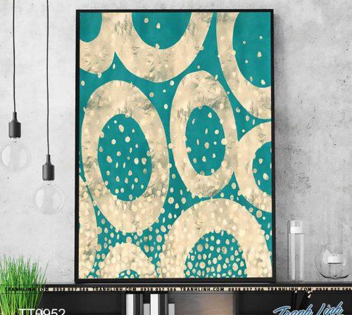 Bo tranh Canvas treo tuong trang tri phong khach truu tuong TT0952